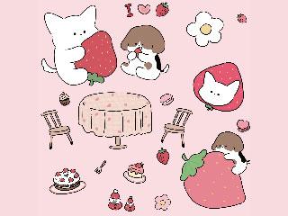 딸기 좋아하세요? ver.1