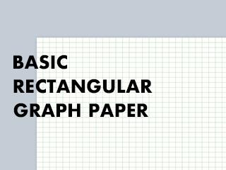 Basic rectangular graph paper