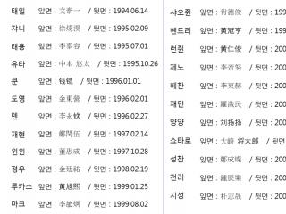 NCT 각인팔찌 공구 입금폼