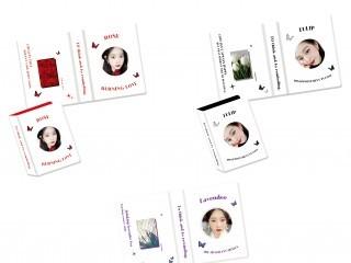 라벤더 1단 콜렉트북 2차 판매 ( 로즈 튤립 추가)